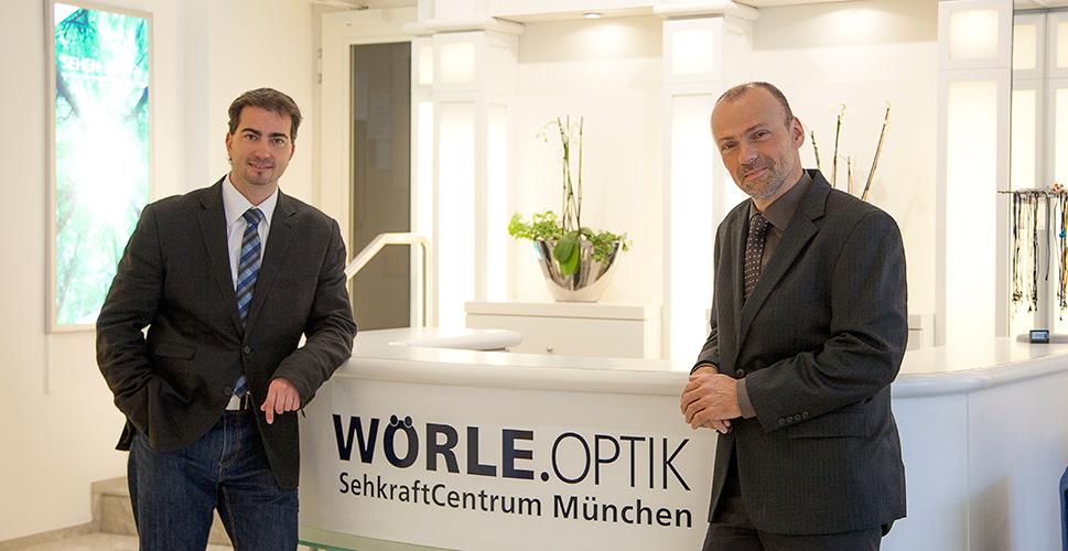Geschäftsführer Horst Drexel und Ralf Emminger