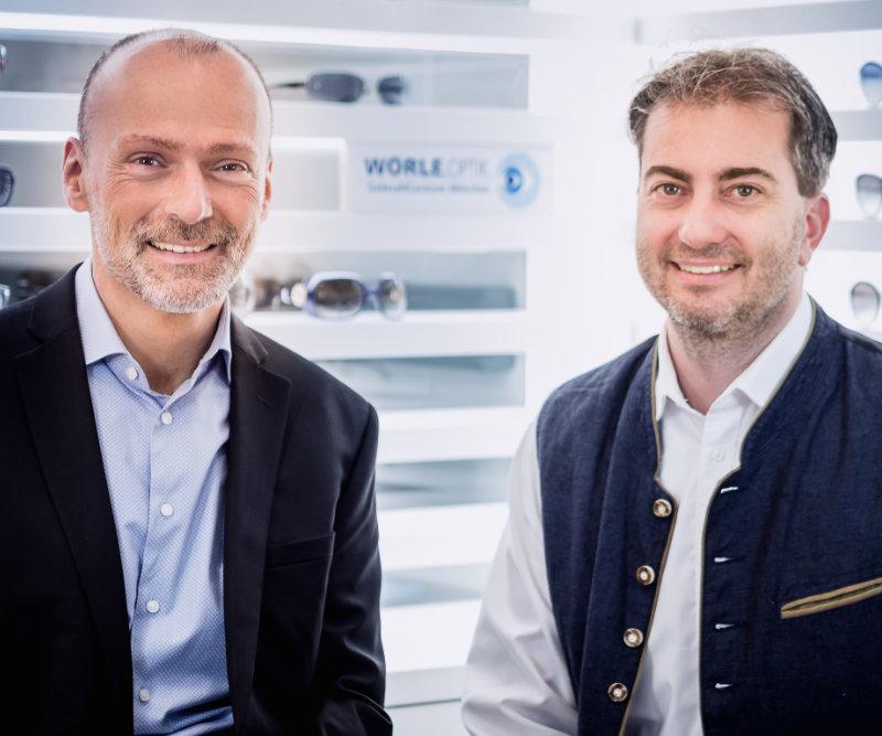 Horst Drexel und Ralf Emminger